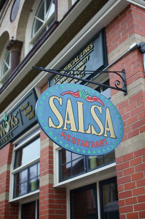 Salsa Restaurant on Bank Street in New Milford, CT. Photo: Trish Haldin / For Hearst Connecticut Media / The News-Times Freelance