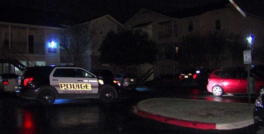 San Antonio Police investigate a shooting on the far North East Side that sent one man to the hospital in critical condition. Photo: Courtesy Pro 21 Video, For MySA.com