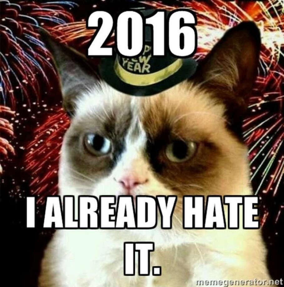 Already grumpy.Via Bustle Photo: Meme Generator, Tumblr, Someecards