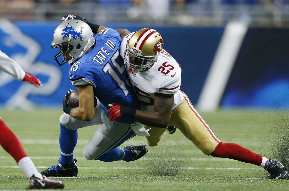 Nike NFL Mens Jerseys - 49ers' Jimmie Ward finishing second season in shut-down mode - SFGate