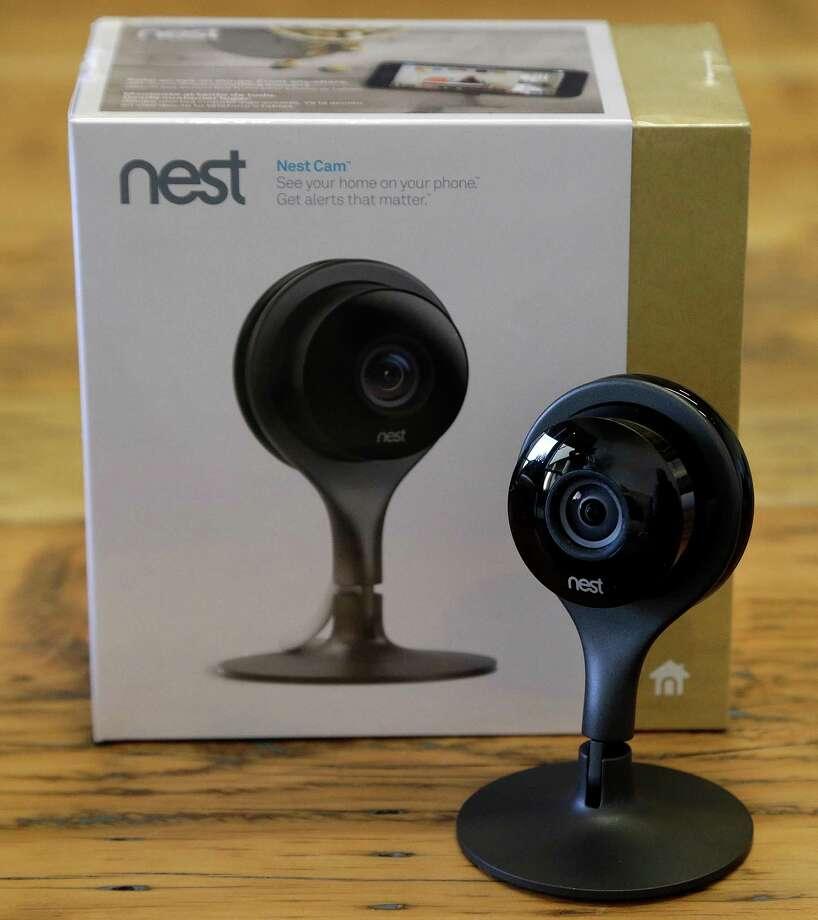 This Sept. 10, 2015, photo shows the Nest Cam at Nest Labs in Palo Alto, Calif., a home security camera that can stream video to a laptop or mobile device. Such devices can involve an inherent threat to privacy, but the best of them include safeguards, so the homeowner is the only one keeping tabs on his or her home. (AP Photo/Ben Margot) ORG XMIT: NYBZ219 Photo: Ben Margot / AP