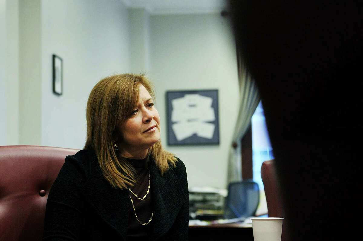 Alicia Ouellette, the dean of Albany Law School, talks about her career as a lawyer during an interview at the school on Thursday, Dec. 17, 2015, in Albany, N.Y. (Paul Buckowski / Times Union)