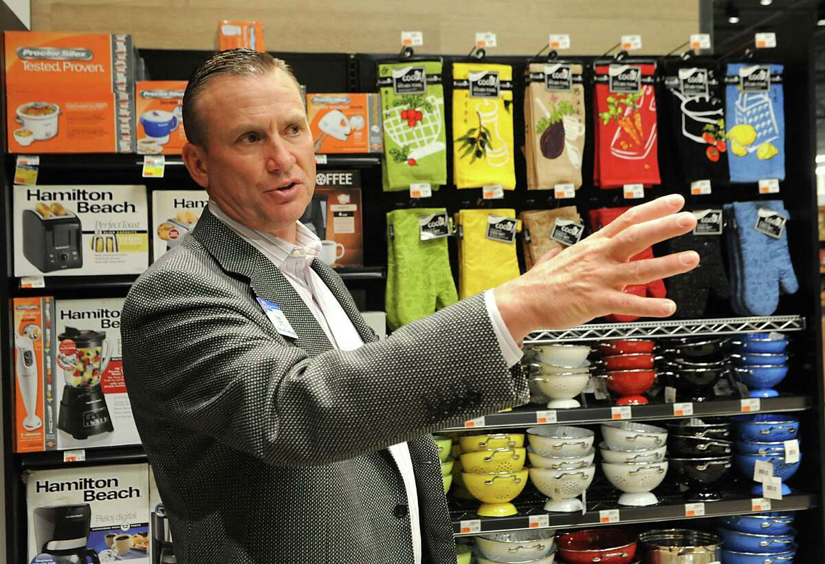 Scott Grimmett, CEOfor Price Chopper, gives a tour in the Wilton Market 32 on Wednesday, June 17, 2015 in Wilton, N.Y. (Lori Van Buren / Times Union)
