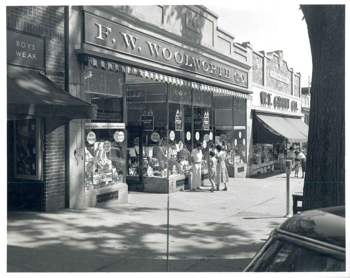 Woolworth's circa the 1950s. F. W. Woolworth Co., also known as Woolworth's, was a retail store that was one of the pioneer five-and-dime stores. The department store had around a dozen stores statewide, they all closed during the 1990s. Location: 205 Greenwich Ave., Greenwich Years in operation: 80 years Closed: 1996 What it is now: Barneys at Saks