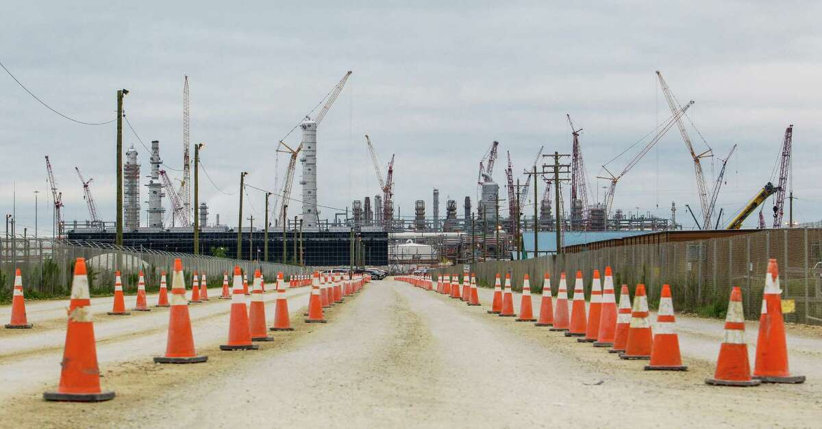 A multi-billion construction campaign at a Chevron Phillips Chemical plant in Baytown is part of a petrochemical rebirth happening across the Gulf Coast that's helping buffer Houston from the massive layoffs in the oil industry.