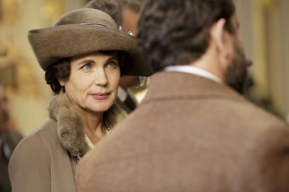 """Elizabeth McGovern plays Cora, Countess of Grantham in the hit show """"Downton Abbey."""""""