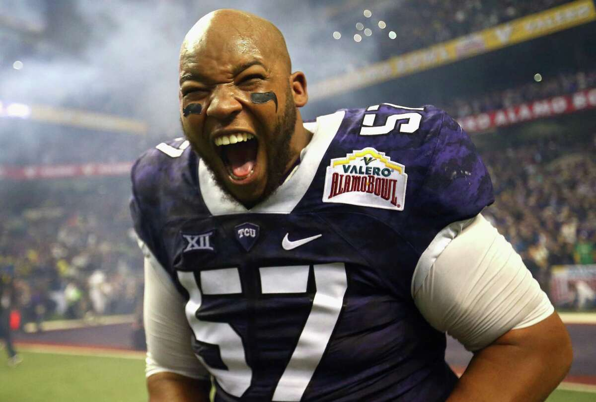 2016: The TCU Horned Frogs pull off an amazing comeback to beat the Oregon Ducks 47 -41.