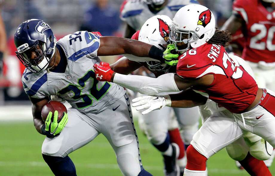 Running back Christine Michael re-signed with the Seahawks on Thursday, the team announced. Photo: Rick Scuteri, Associated Press / FR157181 AP