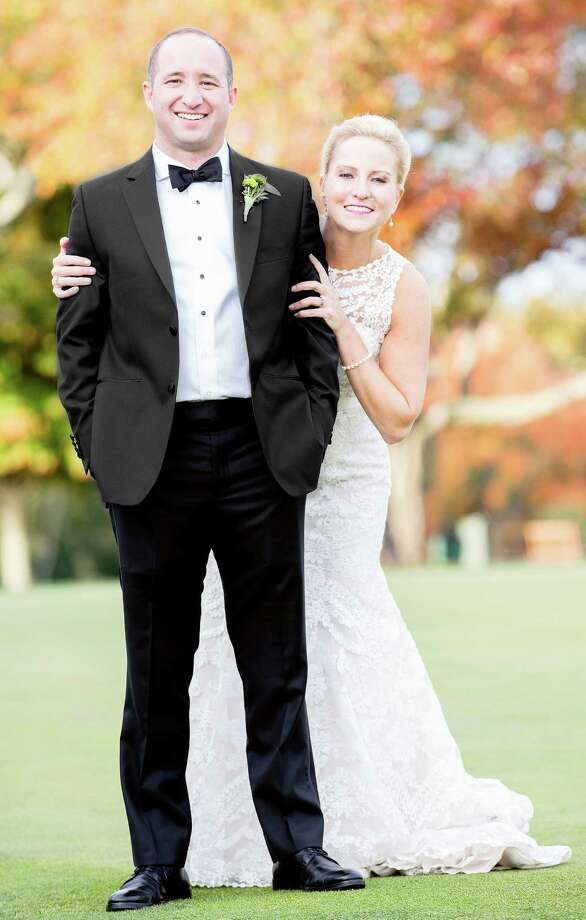 Monica Kirmayer and Robert LaMura were married Oct. 24. Photo: Contributed Photo / Fairfield Citizen