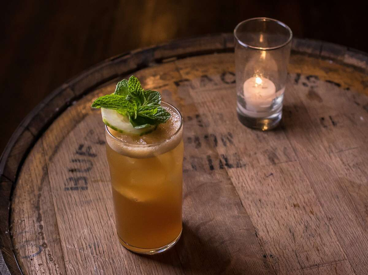 Pimm's Cup at various bars Pimm's Cups are traditionally British, but the drink has been served at the Napoleon House in New Orleans' French Quarter since the 1940s. It's a simple recipe: Pimm's #1, lemonade, ice, 7 up soda, and a cucumber garnish. Pictured: The Pimm's Cup at 15 Romolo.