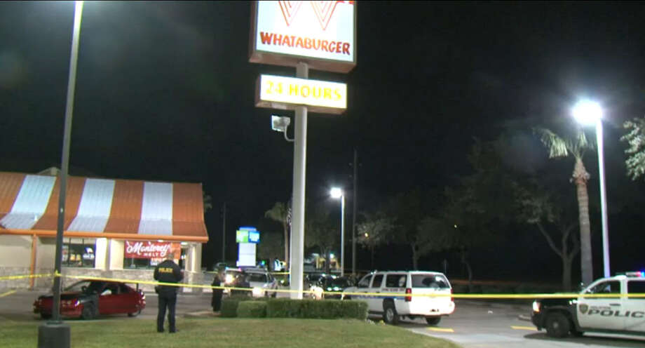 A young woman was found shot to death early Monday morning, Jan. 4, 2016 in a car in the parking lot of a Whataburger on Airtex near Interstate 45 in north Houston. Photo: Metro Video