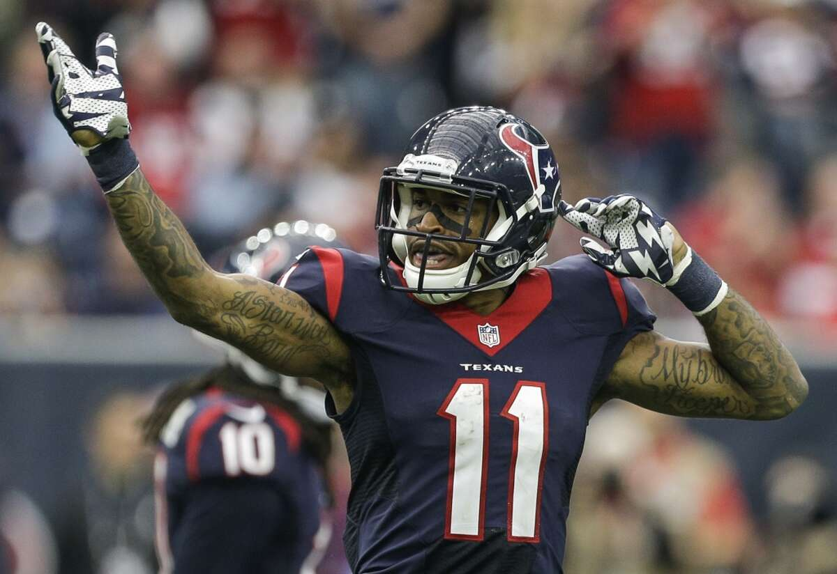 49. Wide receiver Jaelen Strong Only 14 catches, but if he played every game against Indianapolis, he'd be All-Pro.
