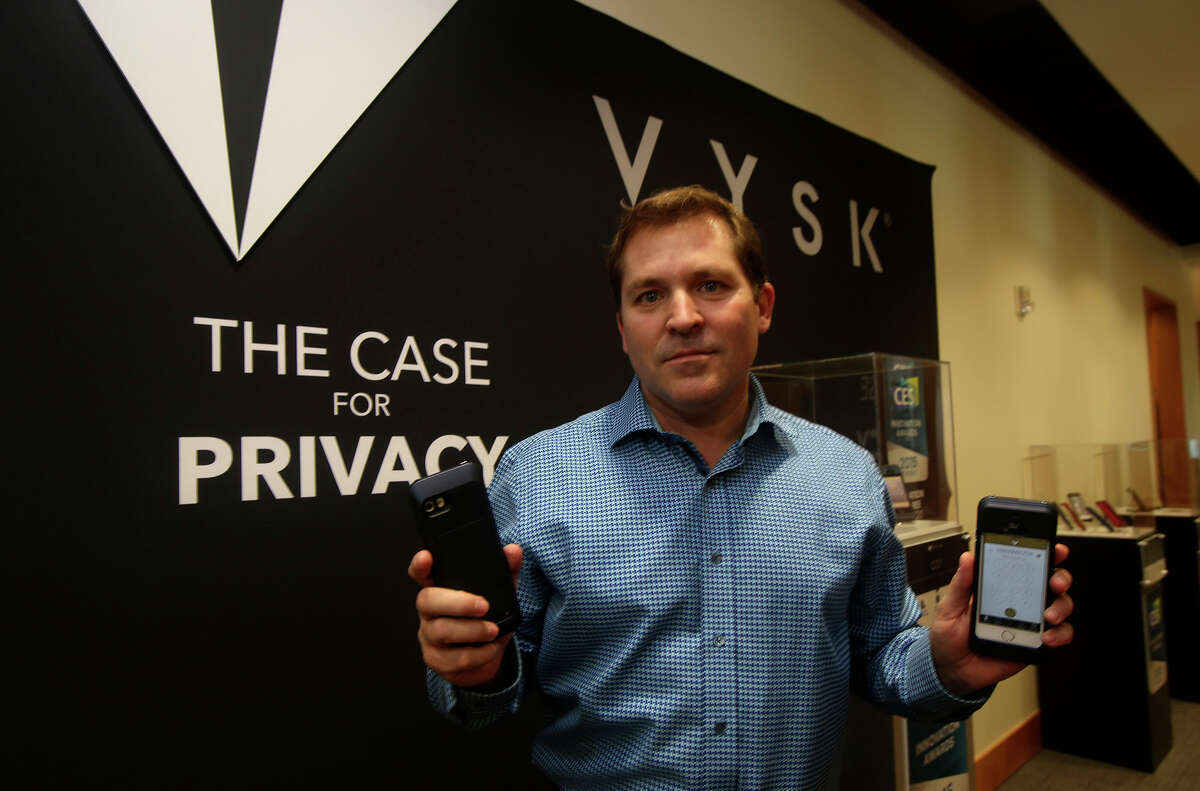 Vysk Communications CEO Victor Coccia says the company is a month away from releasing a privacy case that will become its cornerstone product, the QS1.