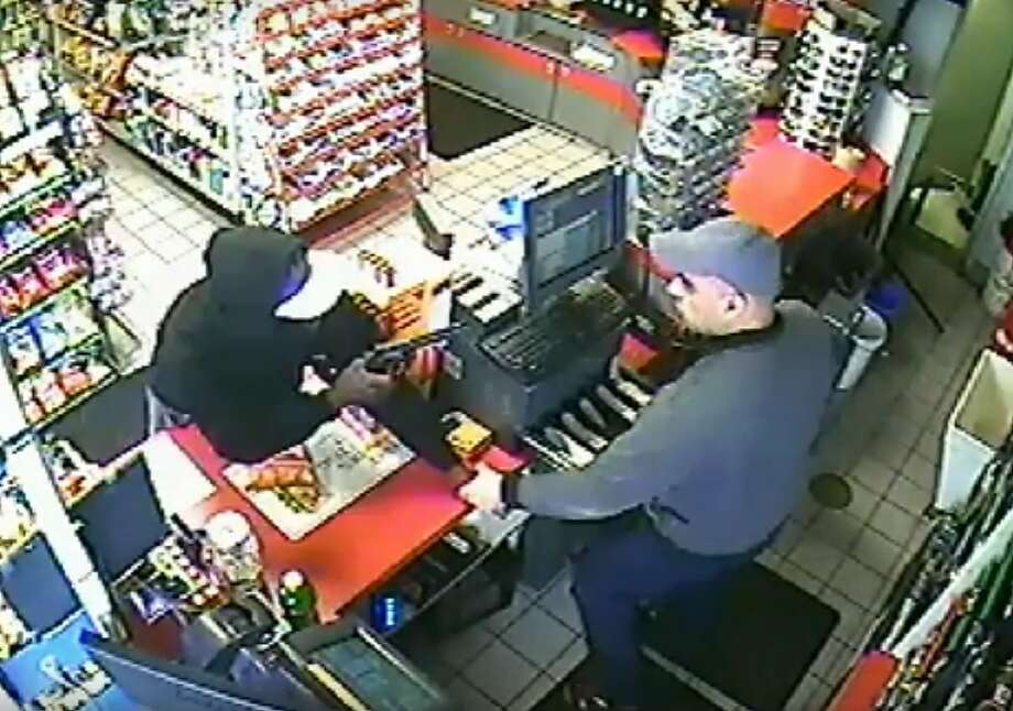 Armed bandit caught on video robbing S.F. gas station