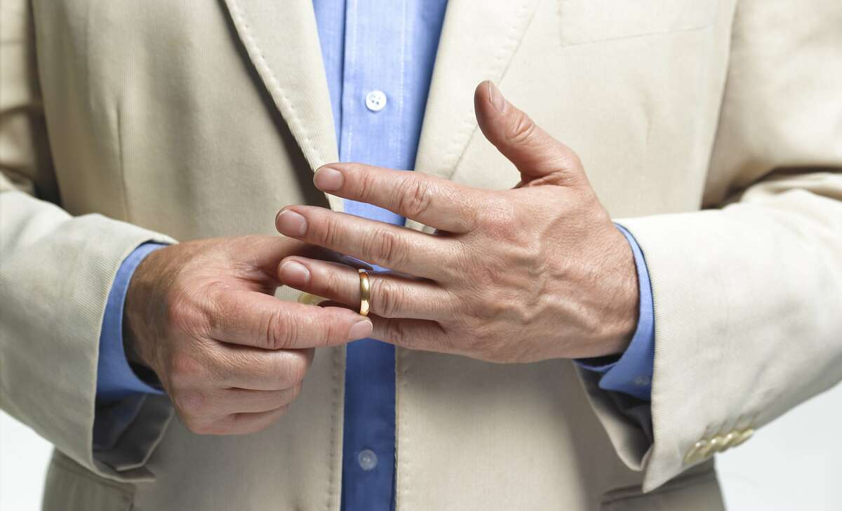 A man lost his wedding ring.