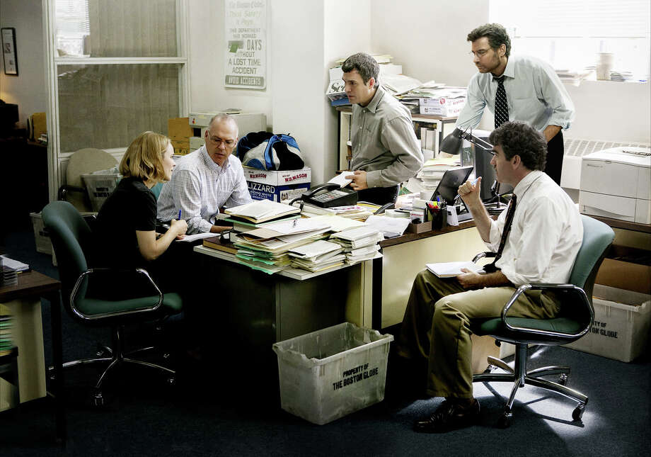 "The newsroom drama ""Spotlight"" was awarded best picture and best screenplay by the Houston Film Critics Society. / © 2015 Open Road Films"