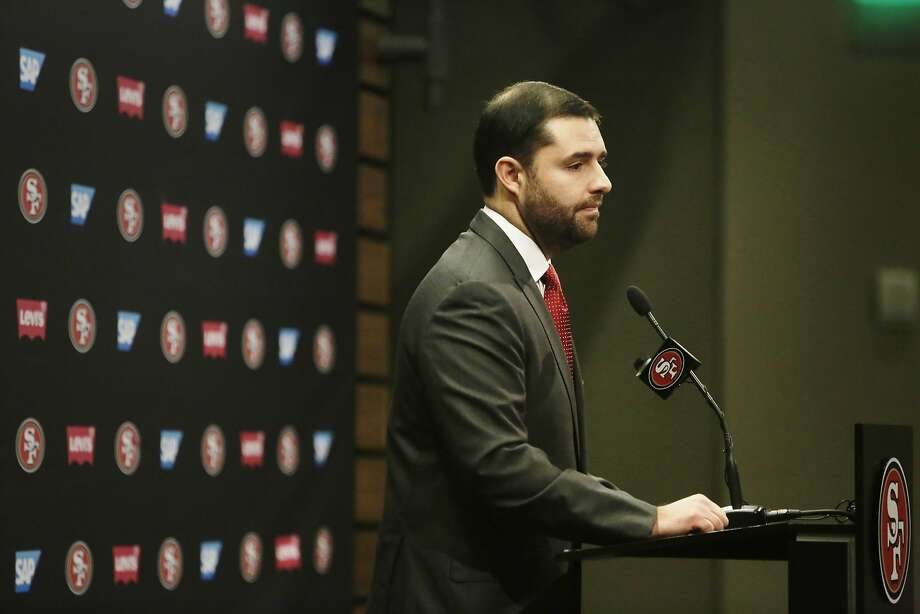 San Francisco 49ers CEO Jed York speaks during a press conference at Levi's Stadium Auditorium on Monday, January 4, 2015 in Santa Clara, Calif. Photo: Lea Suzuki, The Chronicle