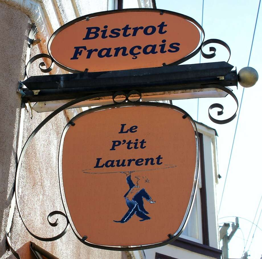 Le P'tit Laurent in Glen Park is a bistro overseen by owner and Paris native Laurent Legendre, offering traditional French fare including a three-course prix-fixe dinner. Photo: Stephanie Wright Hession