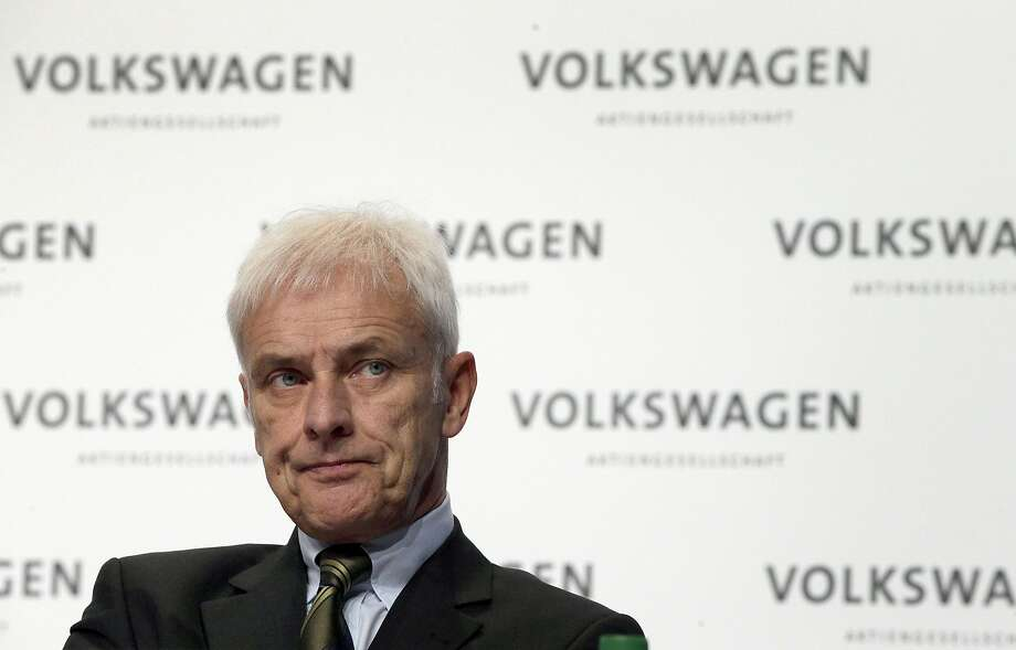 Matthias Mueller took the helm as CEO in September after the Volkswagen emissions-cheating scandal widened. Photo: Michael Sohn, Associated Press