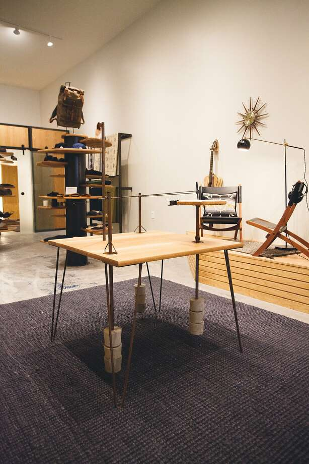 Tanner Goods, based in Portland, Ore., has opened a store at 651 Divisadero St. selling its durable belts, wallets and other leather goods. Photo: Tanner Goods