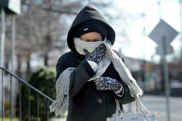 After an unseasonally mild start of Winter, area residents bundled up Monday against a cold snap that brought temperatures as low of 8F degrees with a high of only 24F.
