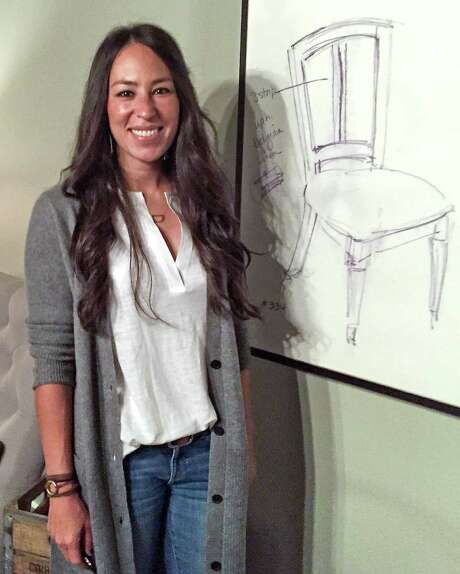 Star of hgtv s quot fixer upper quot joanna gaines introduced her new line of