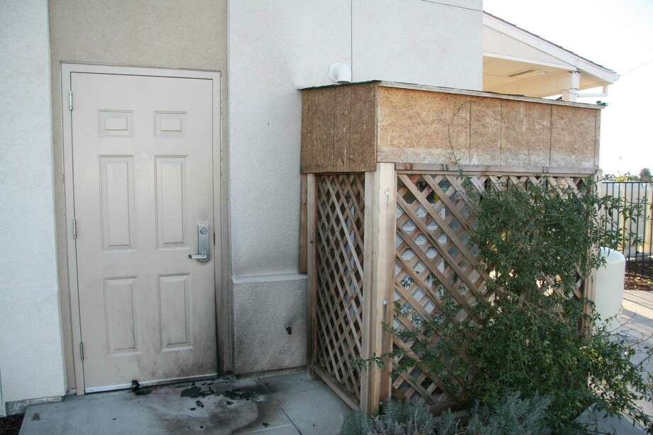 A member of the Tracy Islamic Center discovered the remains of an explosive device Dec. 26. The FBI is now offering a $2,500 reward for information leading to the arrests of those responsible. Photo: FBI / FBI