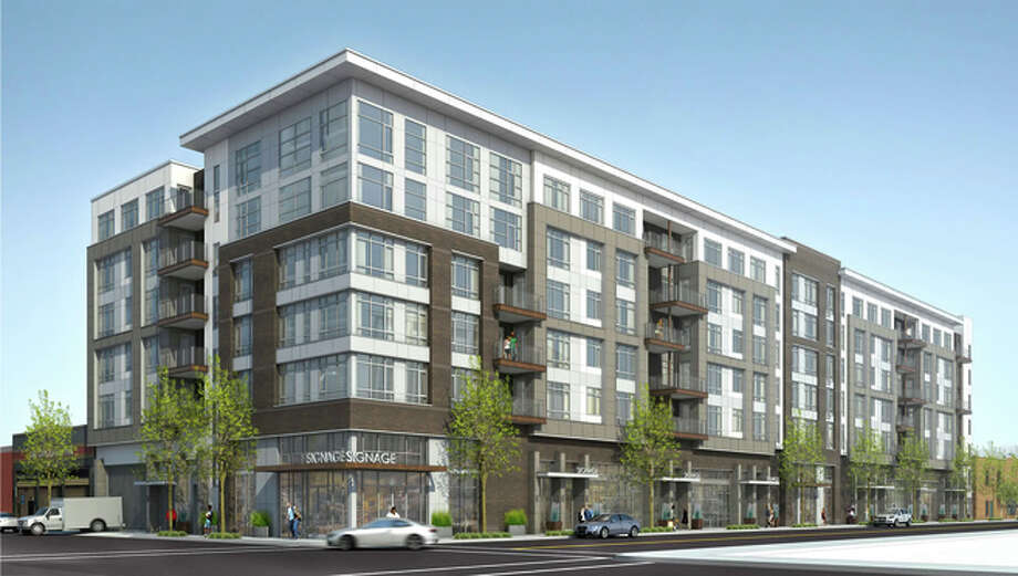 Oakland plans big retail housing project near 19th street for Retail apartment plans