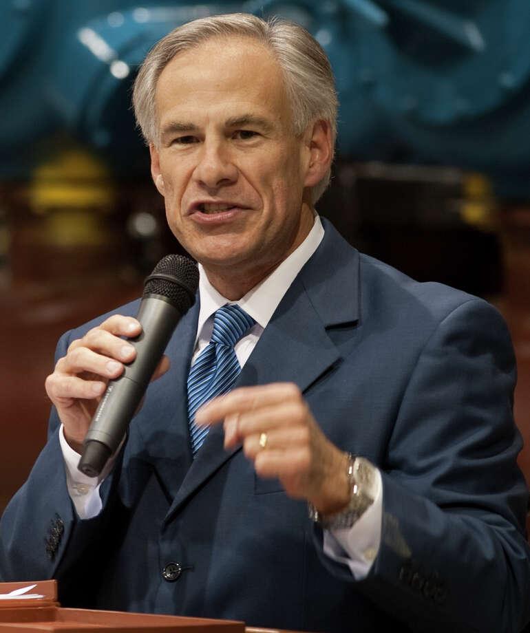 Gov. Greg Abbott says he will ask the Legislature to revisit ethics reform in 2017. Photo: Tim Fischer, Photographer