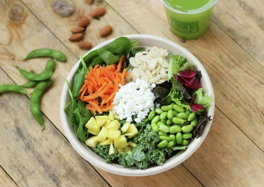 Freshii of Westport has a diverse breakfast, lunch and dinner menu consisting of salads, wraps, burritos, bowls, soups, juices and smoothies. In addition to catering to a number of dietary considerations like gluten-free, everything is made fresh to order from non-GMO ingredients.
