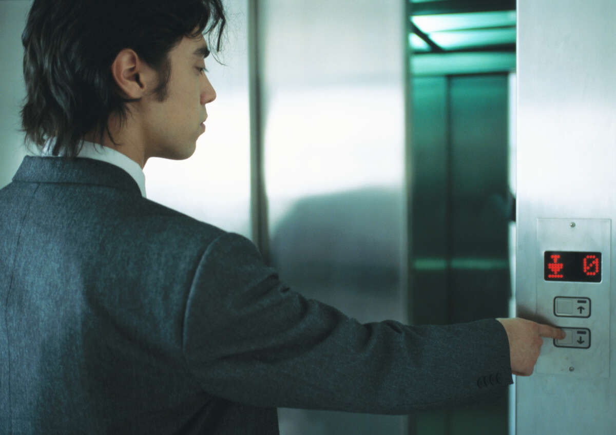 The capable person who gets on the elevator to only go up one story.