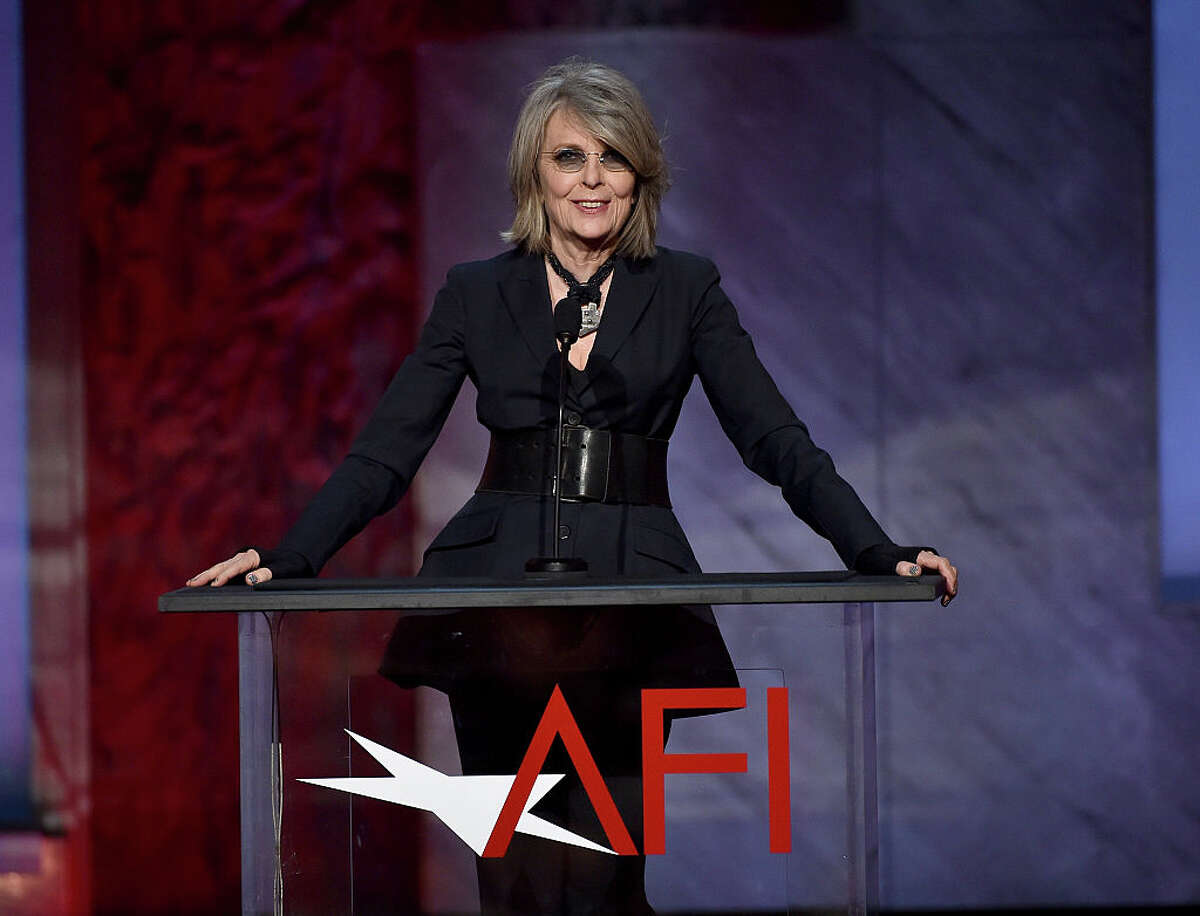 Actress Diane Keaton speaks onstage during the 2015 AFI Life Achievement Award Gala Tribute Honoring Steve Martin at the Dolby Theatre on June 4, 2015 in Hollywood, California.