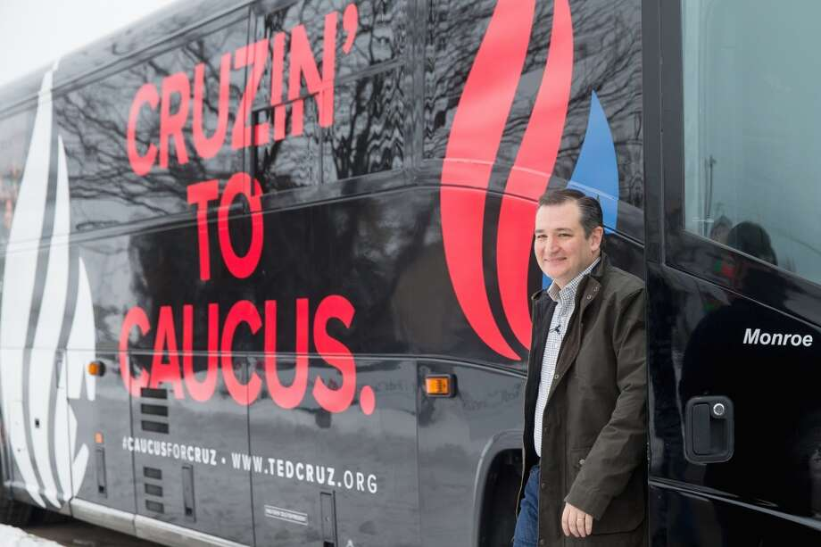 Though victory seems unlikely, Cruz is hitting the New Hampshire campaign trail hard, hoping for a strong showing to propel him through early primary wins. Photo: Andrew Harnik, Associated Press