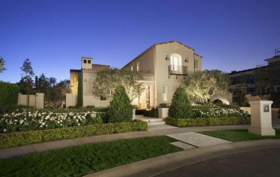 New Texas Ranger, Josh Hamilton, sold his sprawling California mansion for $12.5 million. Photo: Courtesy Of Trulia