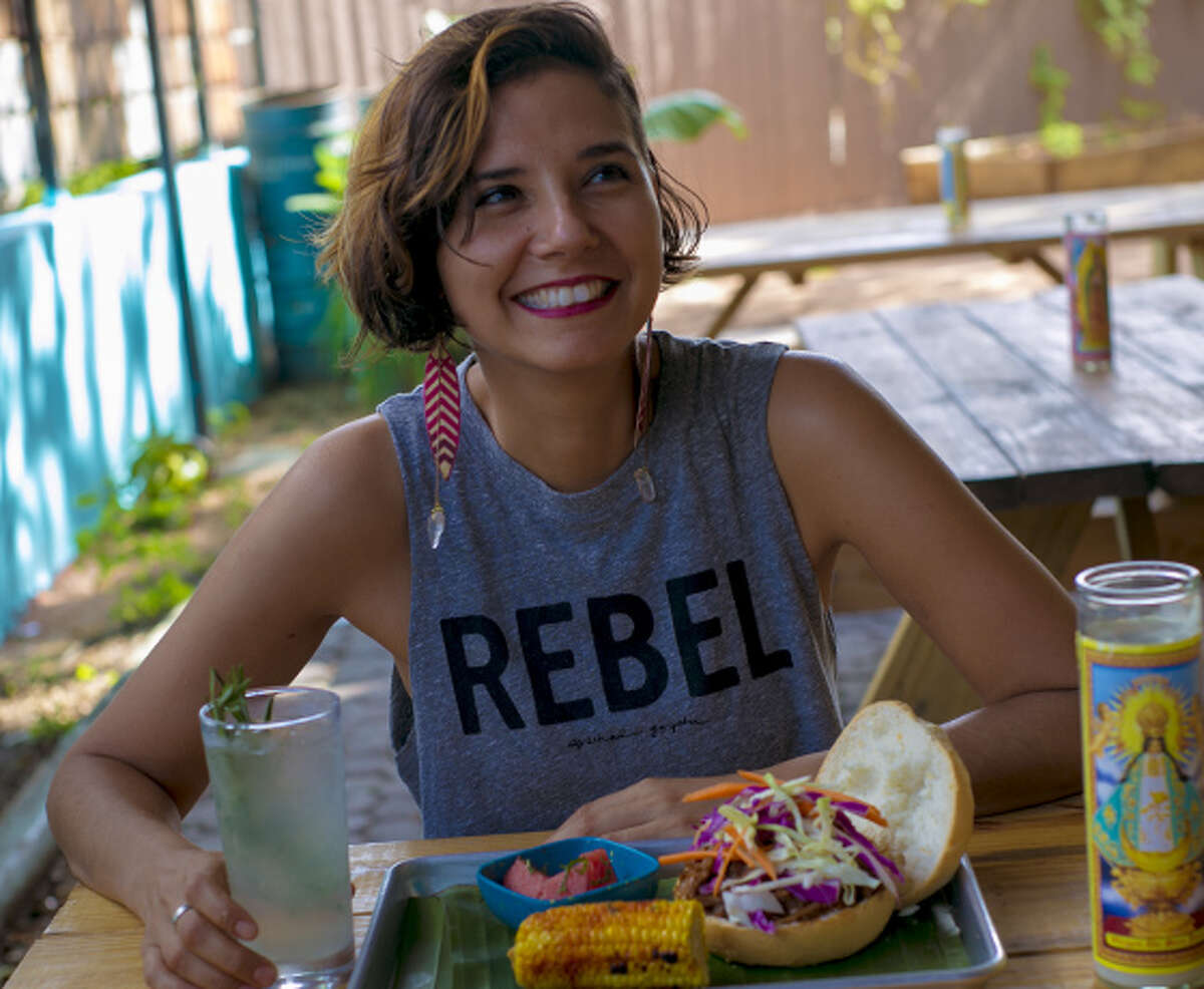Chef/owner of La Botanica Rebel Mariposa Rebel Mariposa owns the St. Mary's Strip vegan restaurant, which features a full bar as well as space for performance and events. In November, she was highlighted by Forbes for