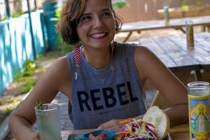 Rebel Mariposa, chef/owner of La Botanica