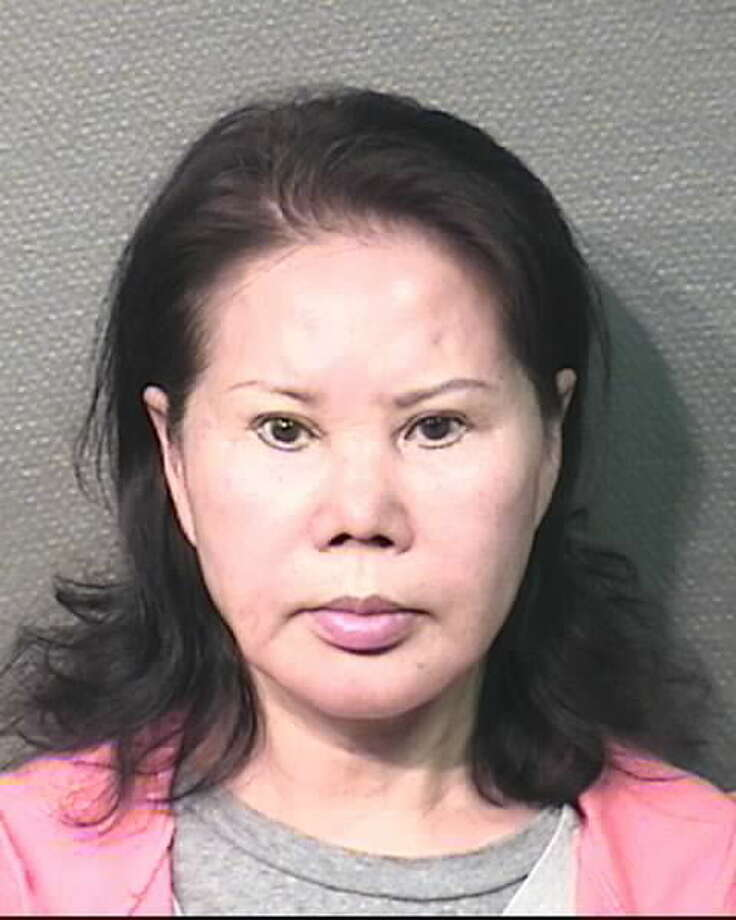 Yun Pak is named as a defendant in a nuisance abatement suit filed by the Harris County Attorney's office against Miyun Studio, where Pak was allegedly in charge, Dec. 16, 2015. This photo is from a May 2013 arrest on a charge of operating a massage parlor without a license. (Houston Police Department)