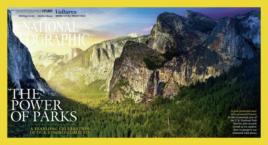 A pullout from the January issue of National Geographic magazine, which kicks off the magazine's year-long exploration of the power of parks.