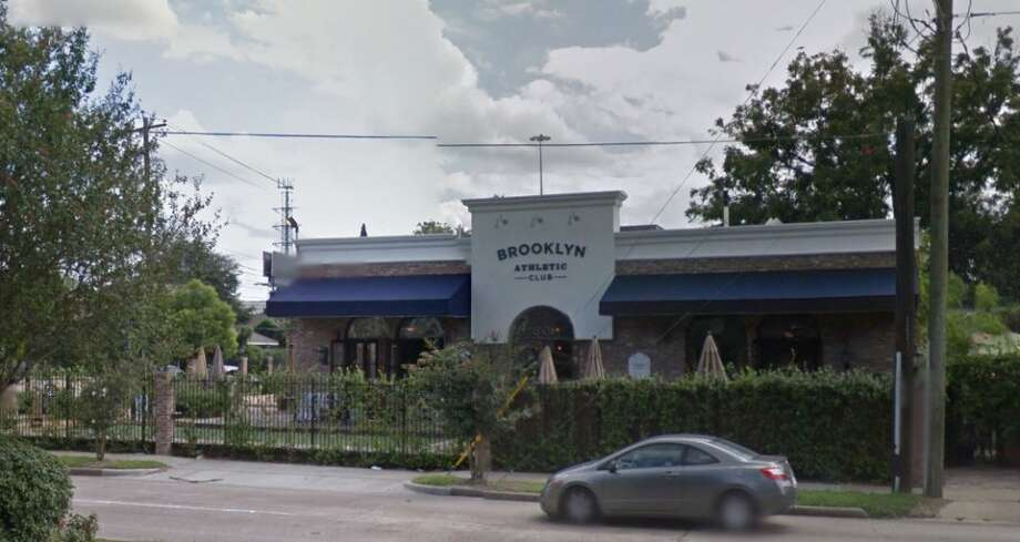 Brooklyn Athletic Club 601 Richmond Ave., Houston, Texas 77006  Demerits: 15  Inspection highlights: Container of food (cooked bean/macaroni/sauce) not stored in the manner that protects food from splash and other contamination.   Photo by: Google Maps