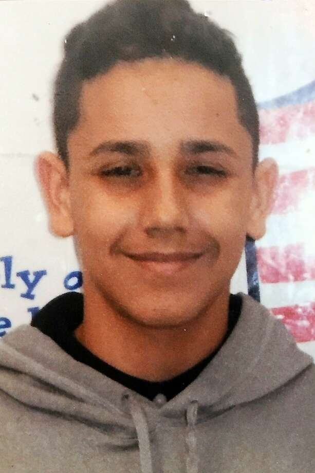 Luis Colon, 14, was shot and killed on Christmas Eve, in Bridgeport, Conn. Dec. 24, 2015. Photo: Ned Gerard, Hearst Connecticut Media
