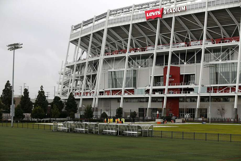 Levi's Stadium in Santa Clara, California, on Tuesday, Jan. 5, 2016. Sharing Levi's with the 49ers could be an option for the Raiders. Photo: Connor Radnovich, The Chronicle