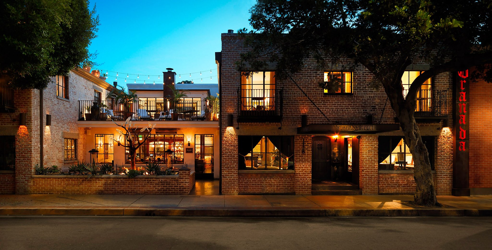 granada hotel and bistro san luis obispo sfgate. Black Bedroom Furniture Sets. Home Design Ideas