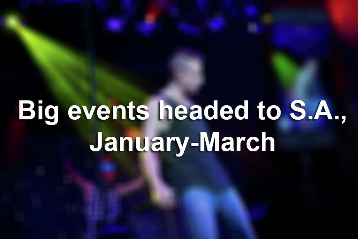 Rock shows, rodeos and everything in between are kicking off 2016 in San Antonio.Click through the slideshow to view the biggest events the Alamo City will see from today through March.