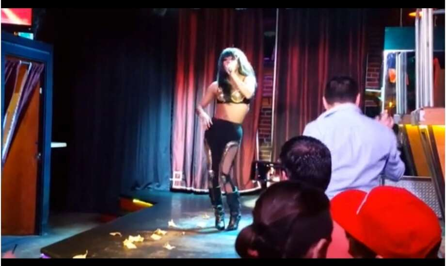 Drag performer Andrew Scott recreates Selena in Seattle.  