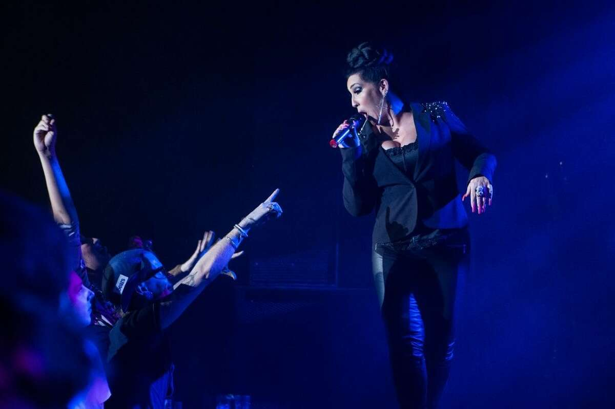Michelle Visage performs at RuPaul's Drag Race Battle of the Seasons Tour .