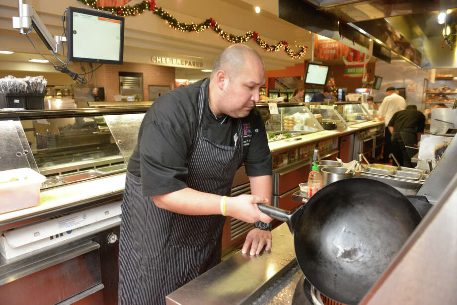 Jesse Perez, the former chef and owner of Arcade Midtown Kitchen is the new executive chef at H-E-B H-E-B Central Market. Photo: Robin Jerstad /San Antonio Express-News