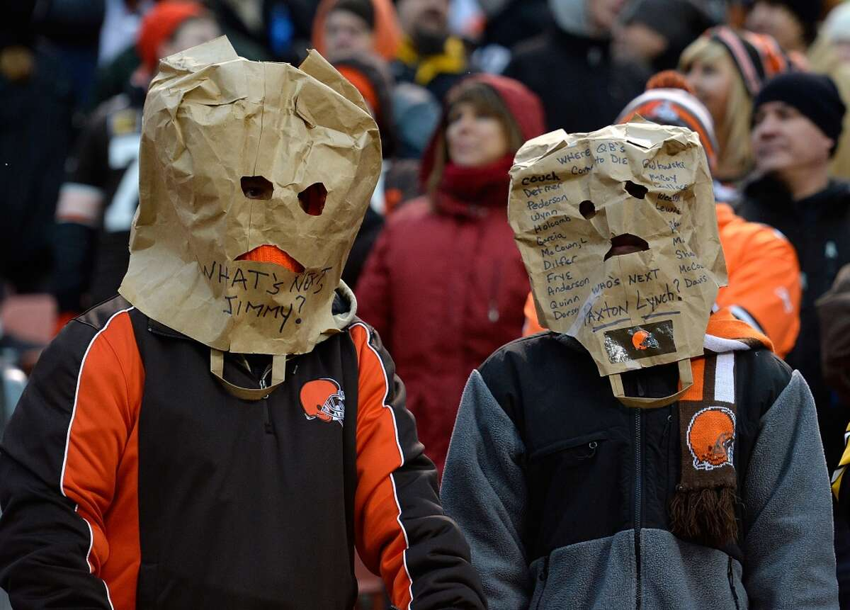 31. Cleveland Browns Record: 75-149 Playoff appearances: 1 Playoff victories: 0