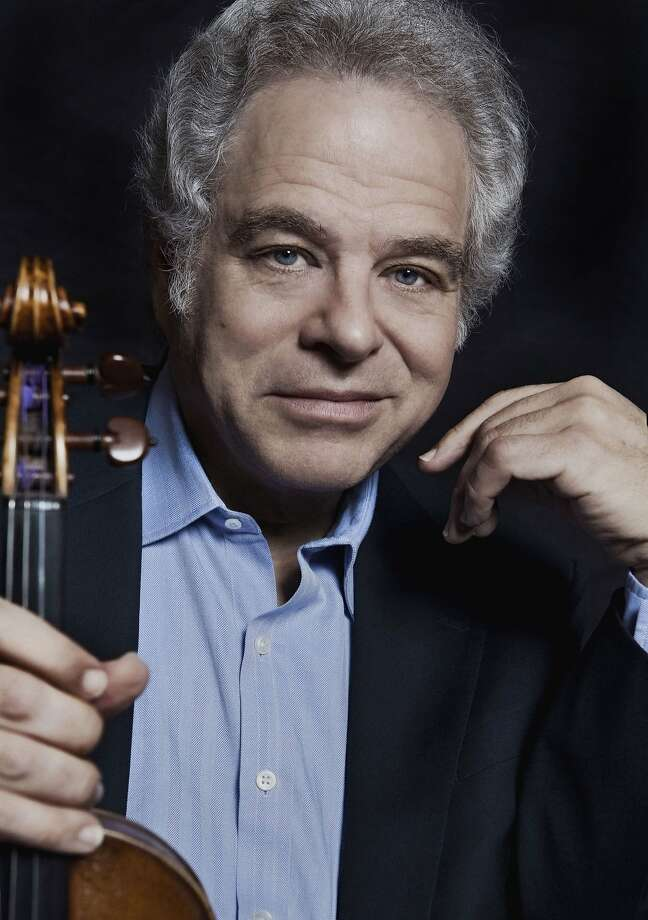 Violinist Itzhak Perlman will conduct as well as solo. Photo: SF Symphony