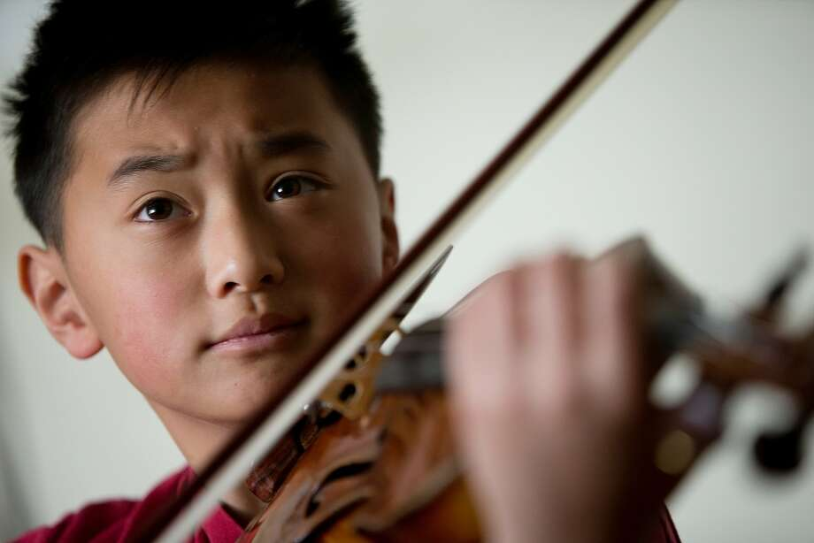 Alex Zhou will solo in Mendelssohn's Violin Concerto. Photo: Symphony Parnassus