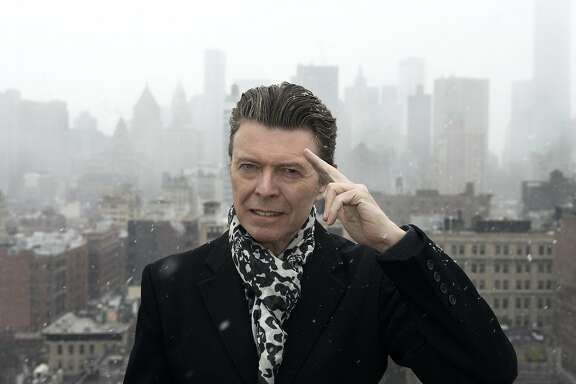 David Bowie celebrates his 69th birthday with the release of a new album, 'Blackstar.'